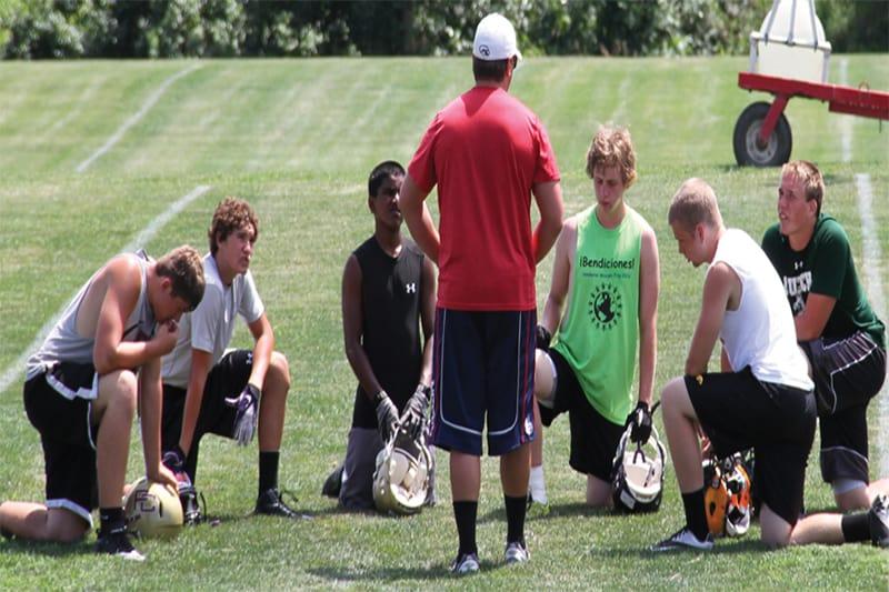 Coaches Nurture Athletes Body, Mind, and Spirit