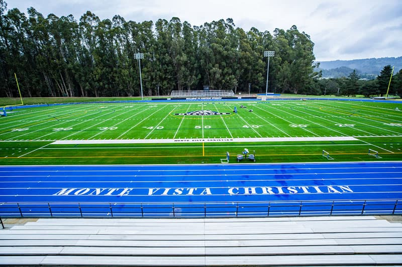 Top Athletes Enjoy Renovated Field and All-Weather Track